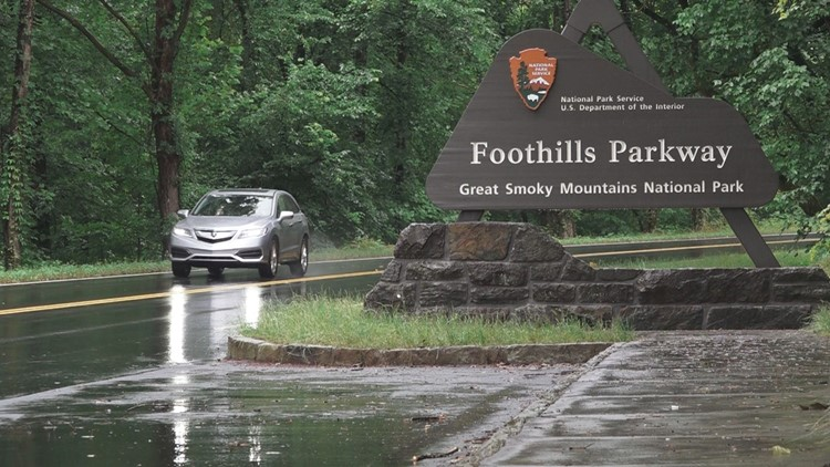 Foothills Parkway Great Smoky Mountains June 2019