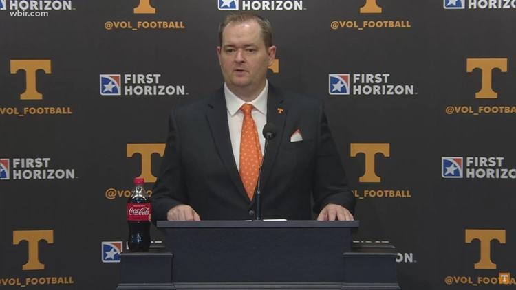 Coach Heupel recaps Vols' first spring football practice