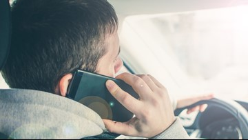After July 1, using your phone and driving is illegal, AAA says that doesn't mean roads are safer