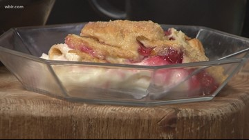 In the kitchen: Crescent Roll Cheesecake Cobbler