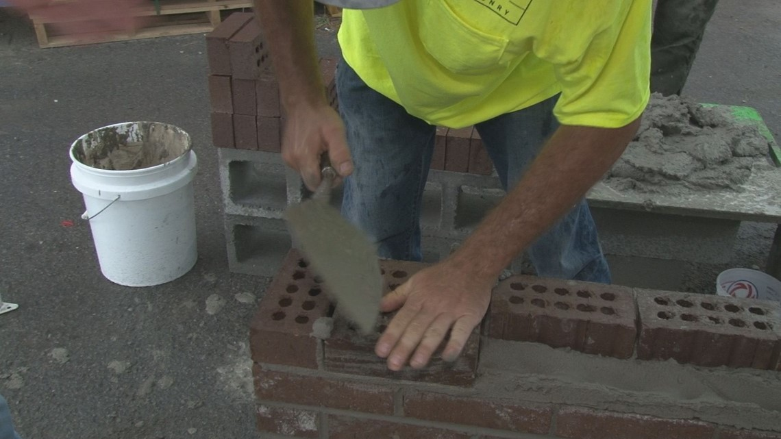 Best bricklayers in the region compete in Bricklayer 500 Saturday, August 24