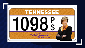 Love Pat Summitt? Get her face on your license plate to support a good cause