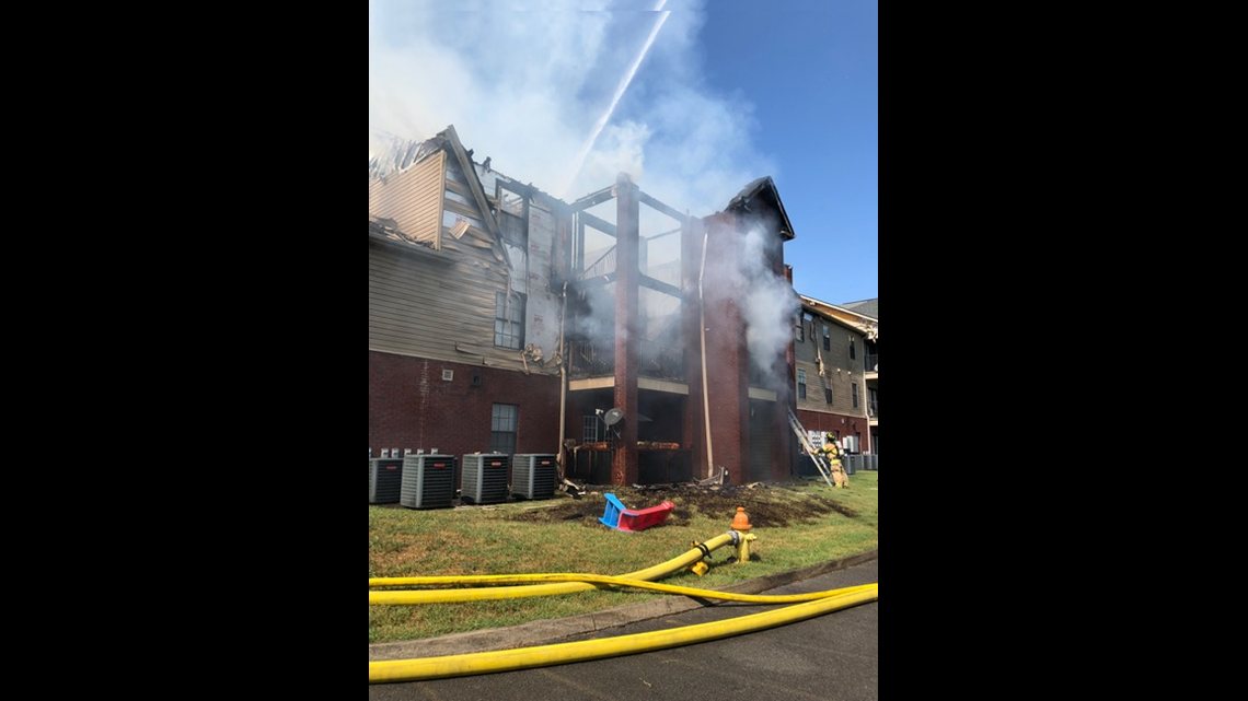 No Injuries After Large Fire Breaks Out At Riverpark