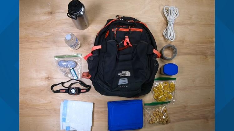 Smokies hiking hacks materials