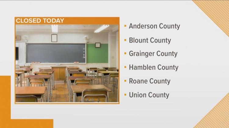 Schools cancel class for flooding, illness
