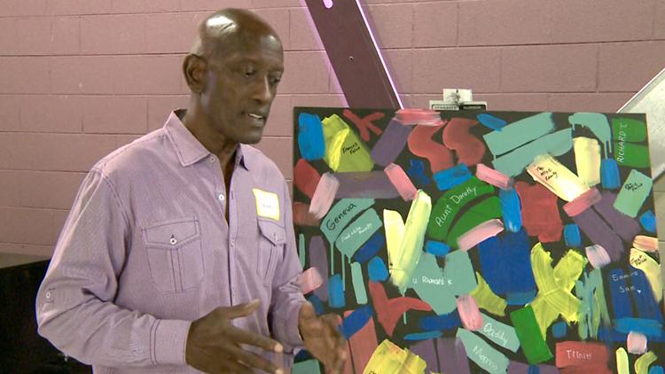 Overcoming Believers Church hosts weeklong art camp, teaching children about different techniques