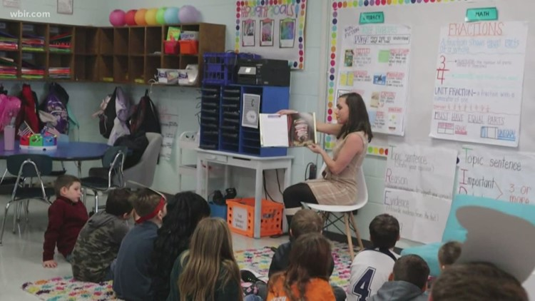 A look at 'Read day' at  North Clinton Elementary