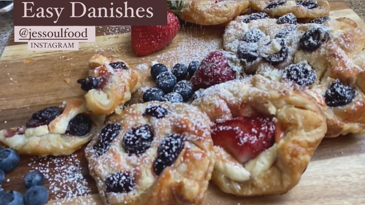 Easy Danishes to make at home