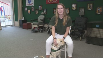 10 Rising Hearts: Student volunteers at Smoky Mountain Service Dogs