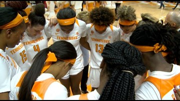 Lady Vols fall to No. 20 in AP Top 25