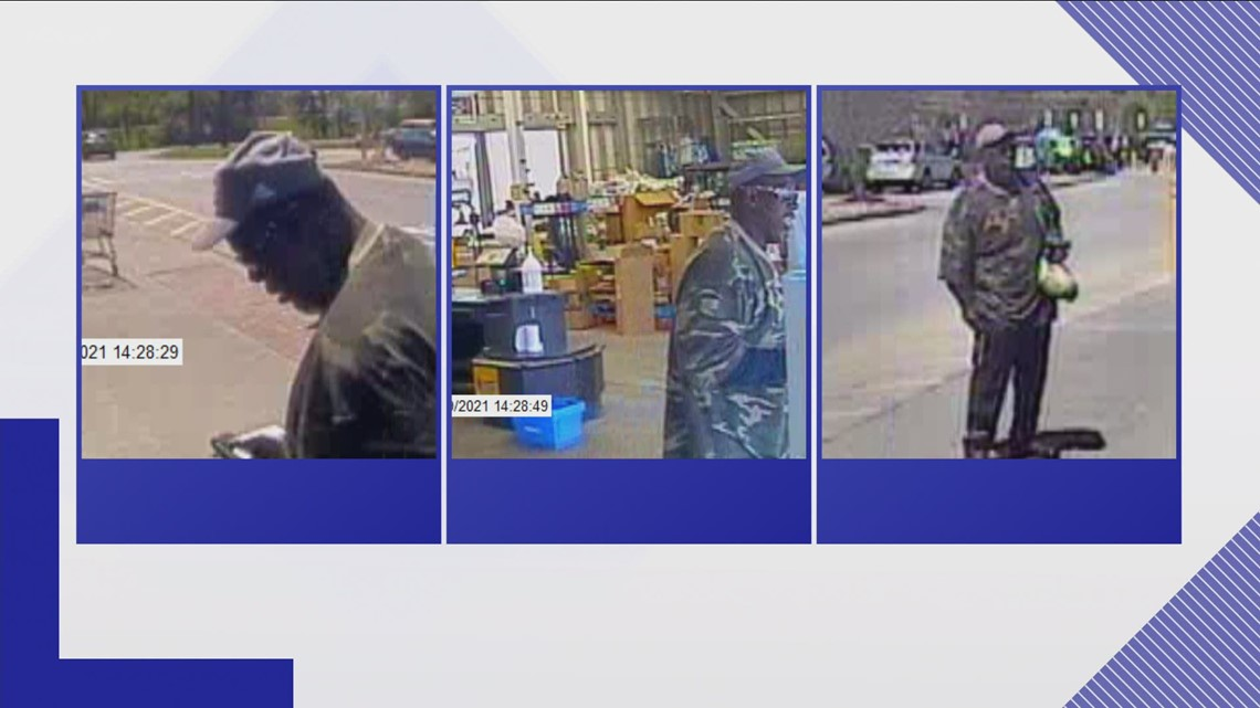 FBI & KPD searching for bank robbery suspect in East Knoxville