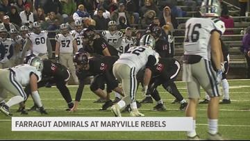 Maryville 26, Farragut 10