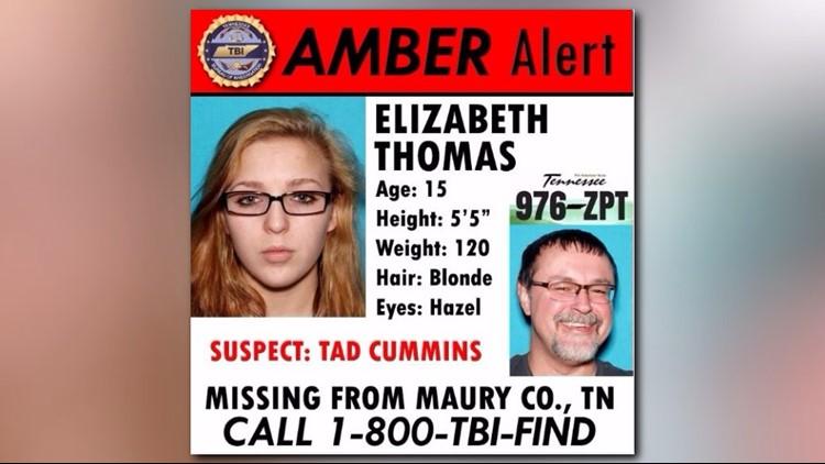 Amber Alert Elizabeth Thomas