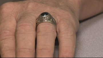 Man reunited with lost Sevier County High School class ring after 43 years