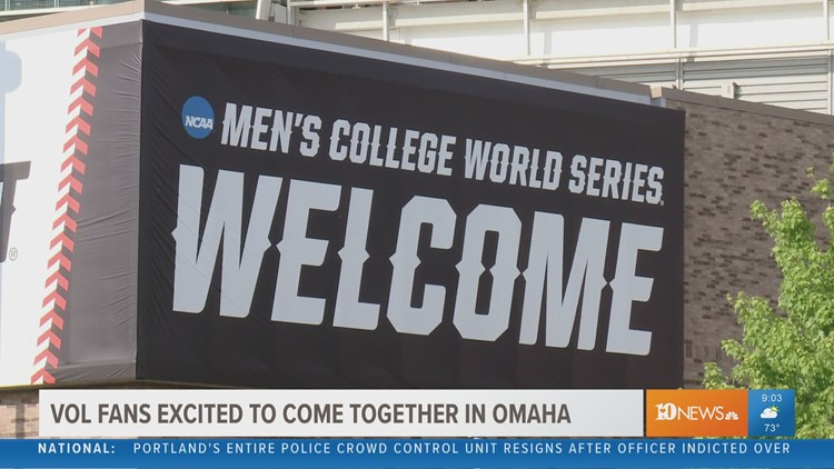 Vol fans travel to Omaha, sea of Big Orange