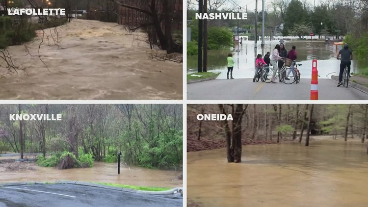 Aftermath of flooding for TN & KY