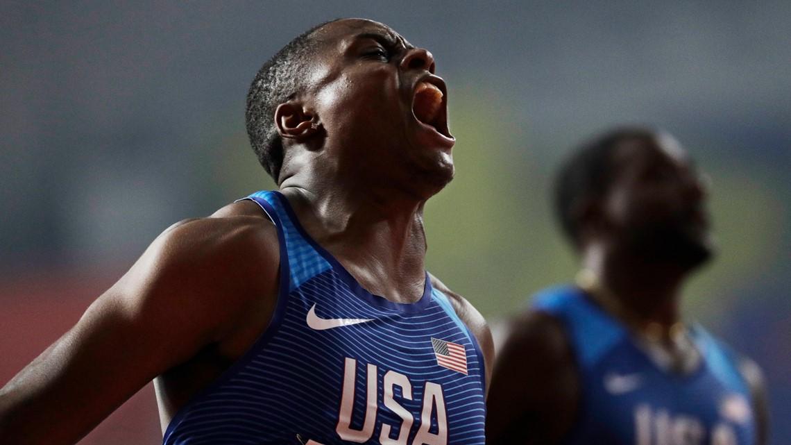 Christian Coleman wins IAAF World Championships