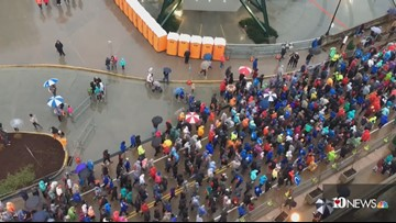 Rain doesn't damper runners in Covenant Health Knoxville 5K, kids run