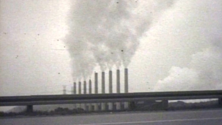 TVA Kingston Steam Plant 1960 WBIR Archives