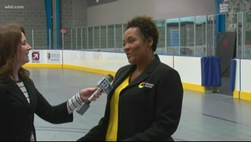 Fourth Sunday free skate night at the Change Center