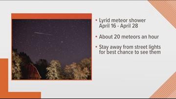 Lyrid meteor shower starts tomorrow
