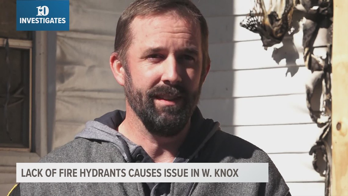 10Investigates: Lack of fire hydrants causing issues in West Knox County