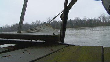 Tugboat captures runaway barge in Loudon County