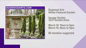 Tour a beautiful garden in Fountain city during Dogwood Arts Winter Featured Garden event