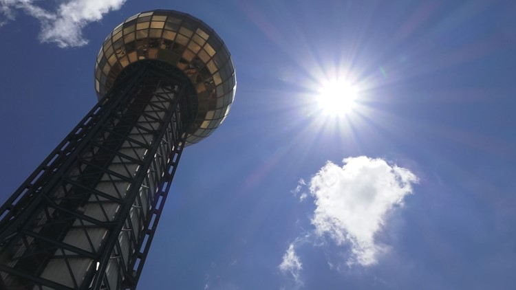 Knoxville makes it on the list of popular destinations to visit this summer