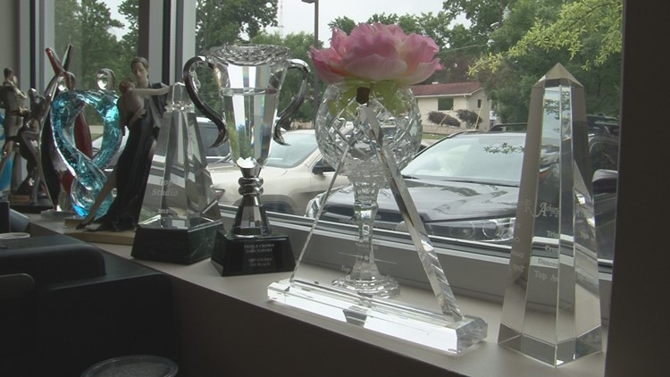 Mary Keen trophies