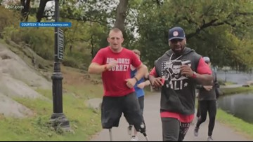 Service & Sacrifice: Wounded Marine completes 31 marathons in 31 days