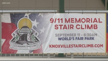 Never Forget: Knoxville 9/11 Memorial Stair Climb