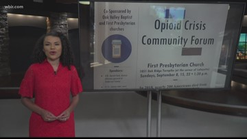 Two men share road to recovery at Anderson County opioid forum