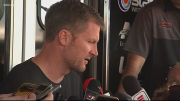 Dale Earnhardt Jr. speaks ahead of first race since plane crash