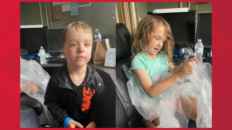 Sevierville Police: Mother of two children found alone located