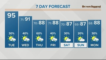 Hot and stormy weather ahead