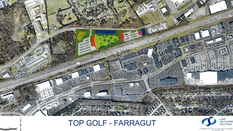 Topgolf Farragut plan