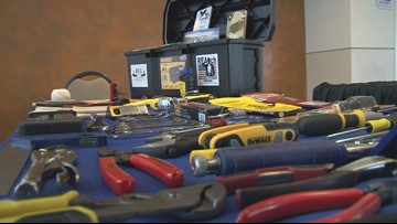 Veteran hopes toolbox gift will help other veterans transition back to life after deployment
