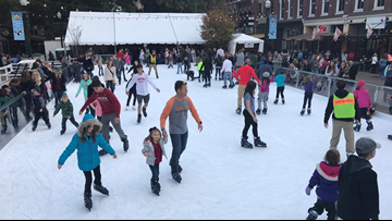 Holidays on Ice rink opens on Market Square