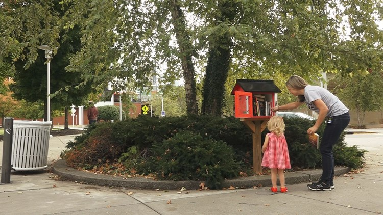 Pay It Forward: Mom opens Little Free Library in memory of daughter