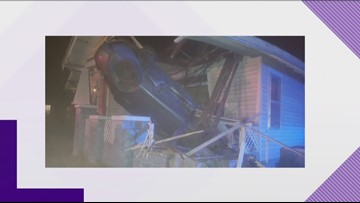 KPD still looking into how a car crashed into a South Knoxville house