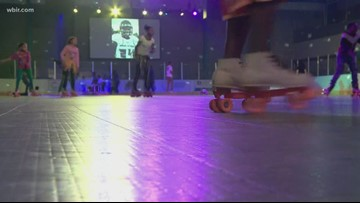 Valentine's Day stays adorable with a daddy-daughter skate night