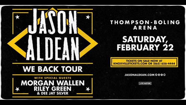 Jason Aldean Concert Sweepstakes