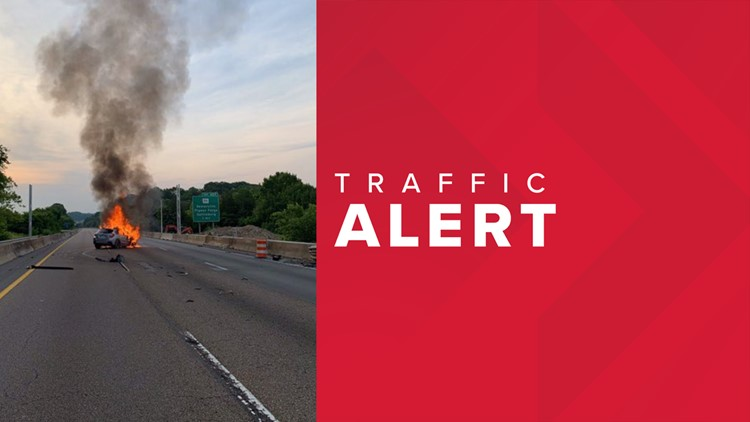 Traffic Alert: I-40 eastbound is back open in Sevier County after vehicle fire
