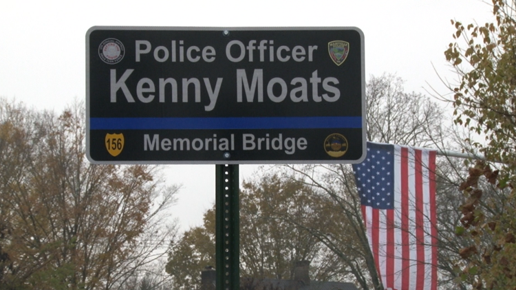 Kenny Moats Bridge Sign