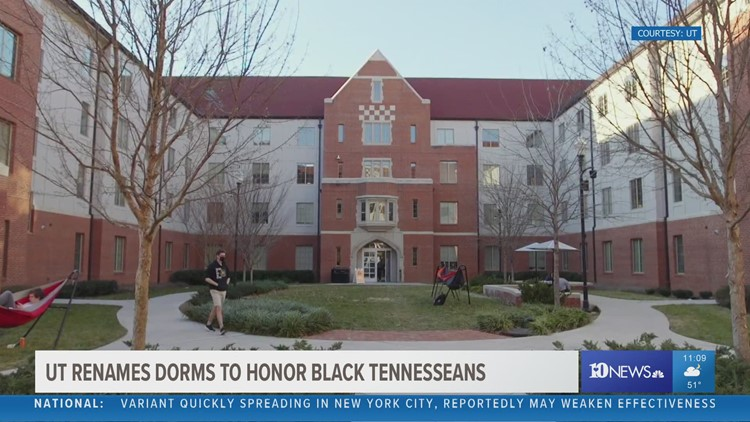 UT renames dorms to honor Black Tennesseans