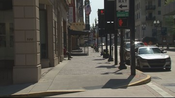 """It's been a ghost town"" 