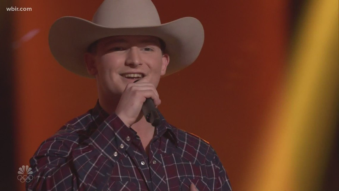 East Tennessee's Ethan Lively joins Team Blake on The Voice