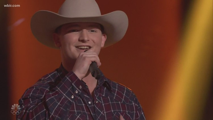 Morgan County's Ethan Lively, 17, impresses judges on The Voice after singing