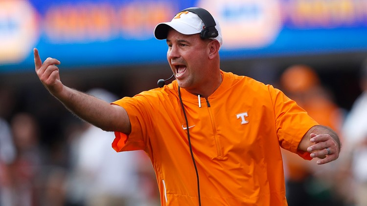 Pruitt announces changes to Vols' football coaching staff